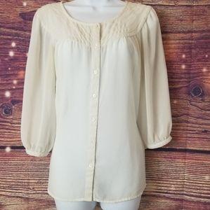 Loft Ann Taylor, women blouse,  size M .